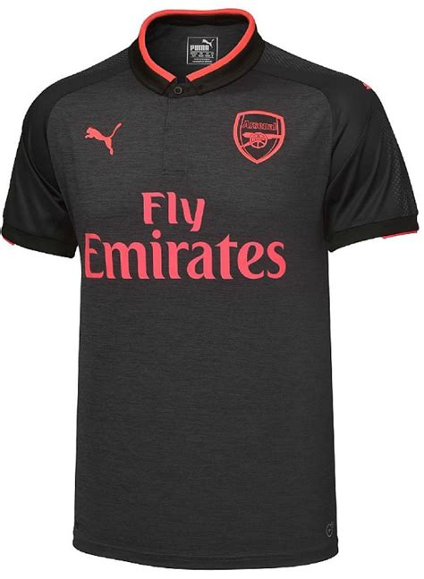 arsenal jersey 2018 grey black pink arsenal third jersey 2017 2018 puma