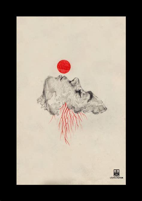imagenes blanco y negro rojo ilustraci 243 n l 225 zaro t 243 tem