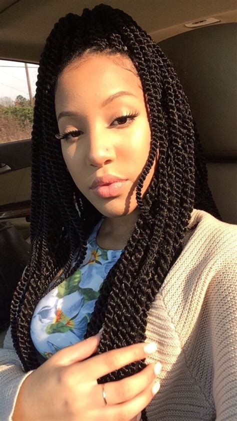 Pictures Of Senegalese Twist Hairstyles by 78 Of The Best Senegalese Twist Hairstyle Ideas