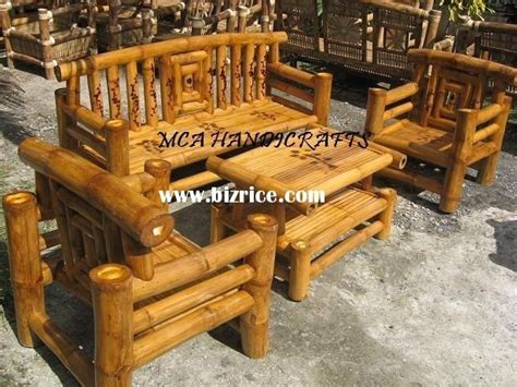 Bamboo Outdoor Chairs by Patio Furniture Bamboo Patio Furniture