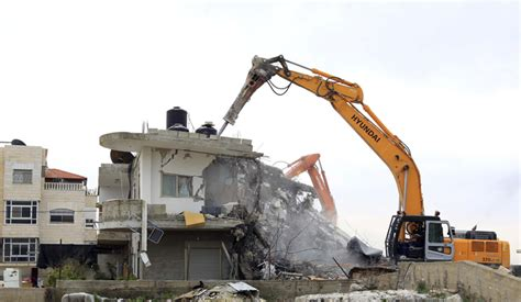 hamas house demolitions will not will of