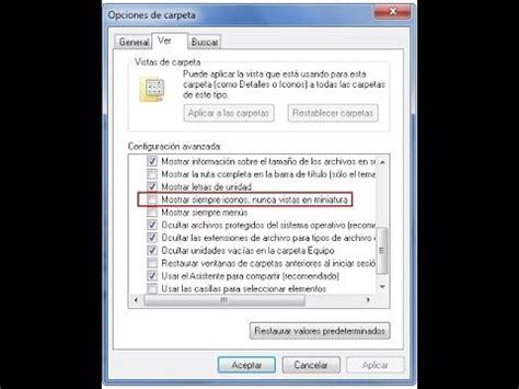 windows 10 ver imagenes en miniatura ver im 225 genes en miniatura en windows 7 youtube