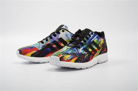 adidas zx flux multicolor af6323 foot district