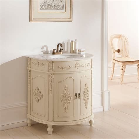 Antique Bathroom Furniture Antique Vanity Unit Ivory Bathroom Furniture
