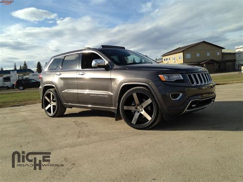 jeep grand wheels jeep grand niche milan m134 wheels black