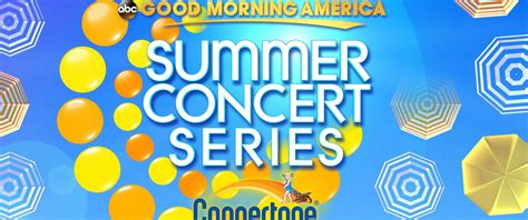 Abc News Sweepstakes - good morning america s summer concert series sweepstakes 2014 official rules abc news