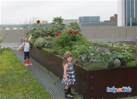 Rooftop Garden Indianapolis by Sky Farm Rooftop Garden Eskenazi Health Indy With