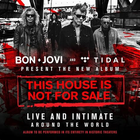 this house is not for sale bon jovi to perform this house is not for sale album in four intimate shows