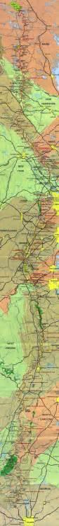appalachian trail map appalachian trail map detailed lists