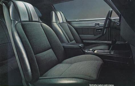 1981 camaro sales brochure custom interior