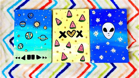 decorar hojas tumblr decora tus cuadernos estilo tumblr los tutos youtube