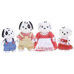 Crafts For Decorating Your Home Dalmatian Family Figures From Sylvanian Families Wwsm