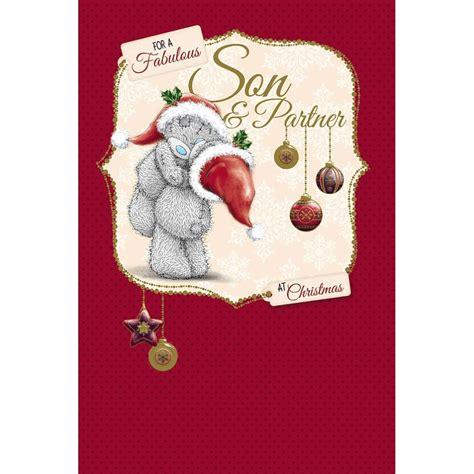 son  partner    bear christmas card xms    bears  store