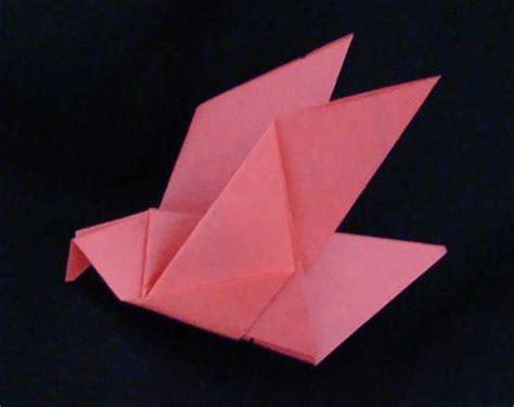 Origami Pigeon - origami paper crane