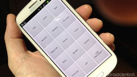 Lcd Advan S3 Tested how to uncover and use the service menu on the galaxy s3 android central
