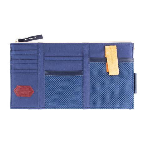 new sun visor point organizer pouch bag pocket card