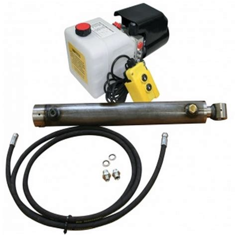 Pompa Air Mobil High Pressure 12v 4l Min single acting hydraulic trailer kit 12v free delivery flowfit
