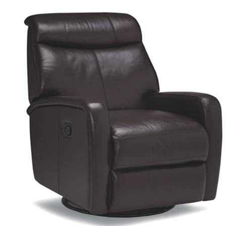 swivel base recliner rs 4299 leather recliner with swivel base