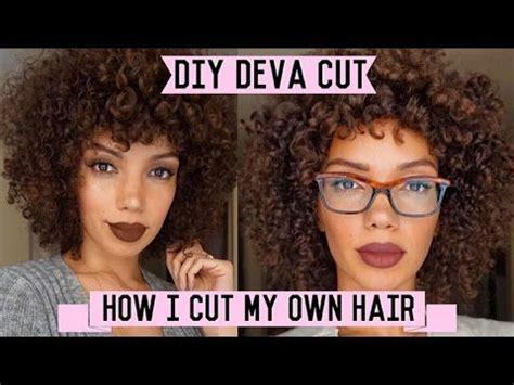 is deva cut hair uneven in back how to cut curly hair at home diy deva cut healthy