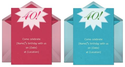 40 year birthday invitations wording 40th birthday invitation