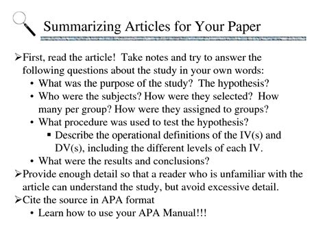 thesis abstract format apa writing an abstract for a dissertation