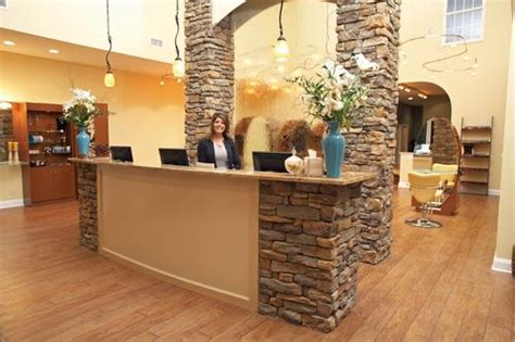 beautiful natural stone on front desk office pinterest