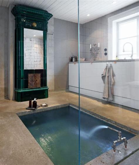 sunken bathtubs 34 dreamy sunken bathtub designs to relax in digsdigs