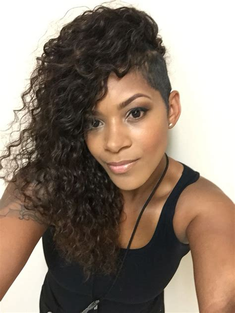 how to do shaved side sew in 28 best hair of my life images on pinterest hair dos