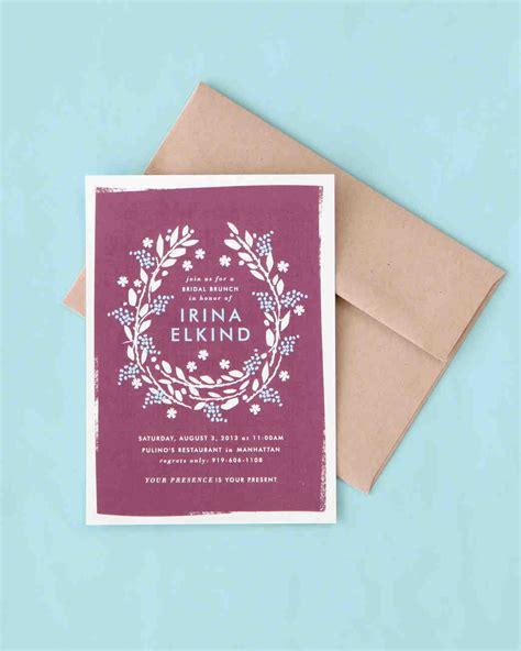 Wedding Invitation Decorations by Wedding Invitations Martha Stewart Weddings