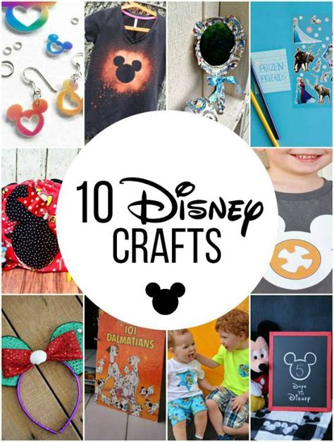 disney crafts for 10 disney crafts for the whole family make and takes