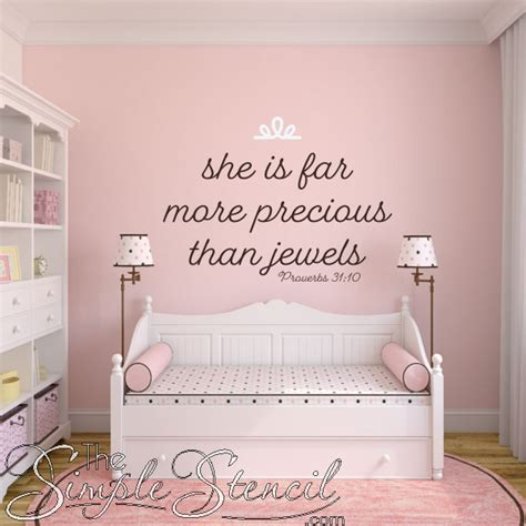 scripture wall decals for nursery bible verse wall decals for baby s nursery or