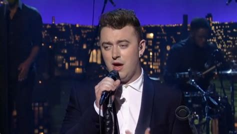 Smith Is Dead Oh My God by Sam Smith Make Letterman Say Oh My God Stereogum