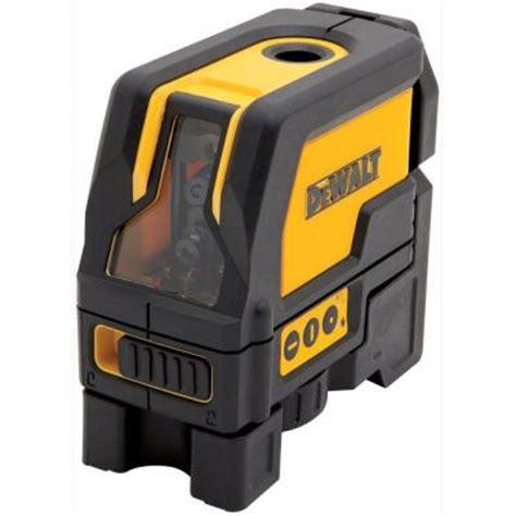 home depot laser level dewalt self leveling cross line and plumb spots laser