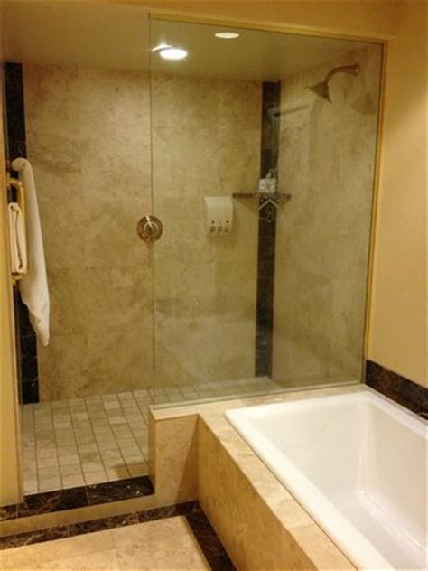 hotels with walk in bathtubs roomy bath w tub large walk in shower picture of the