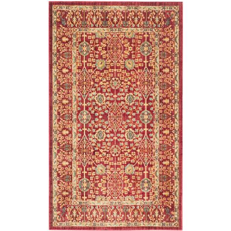 Rug 3 Ft by Safavieh Valencia 3 Ft X 5 Ft Area Rug Val120r 3