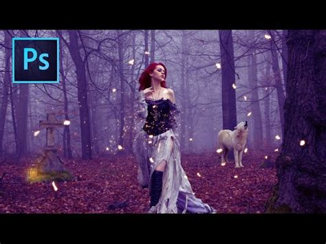 video tutorial youtube photoshop magic forest photoshop manipulation tutorial youtube