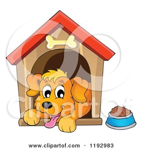 happy dog house royalty free stock illustrations of dog houses by visekart page 1