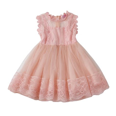 Sale Kid Dress Lace Hellen fancy baby boutique clothing princess lace baby birthday tutu dresses for