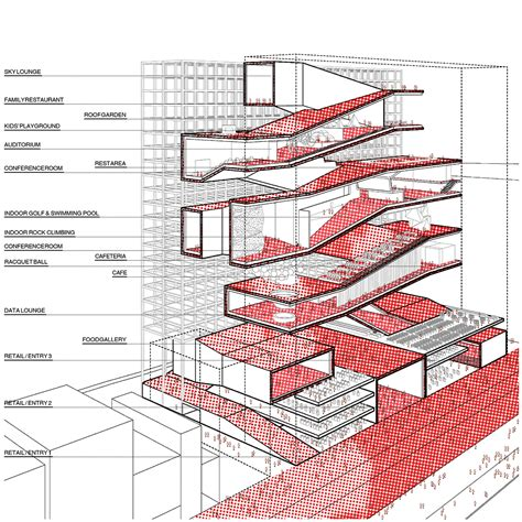 Architectural Diagrams by H Architecture