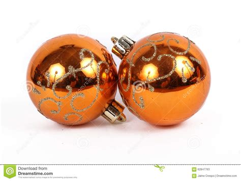 orange balls ornament stock photo image 62847763