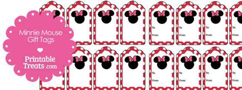printable minnie mouse name tags printable minnie mouse gift tags printable treats com