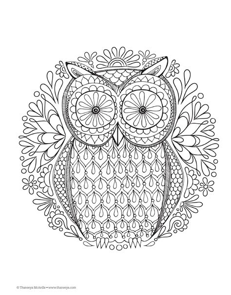adult mandala coloring book pages