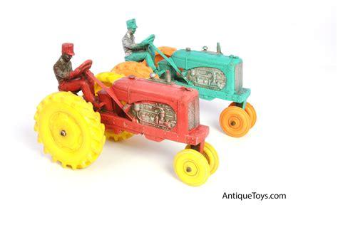 rubber toys rubber tractors by auburn antique toys for sale