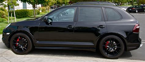 porsche cayenne blacked out 09 blacked out cayenne gts 6speedonline porsche forum