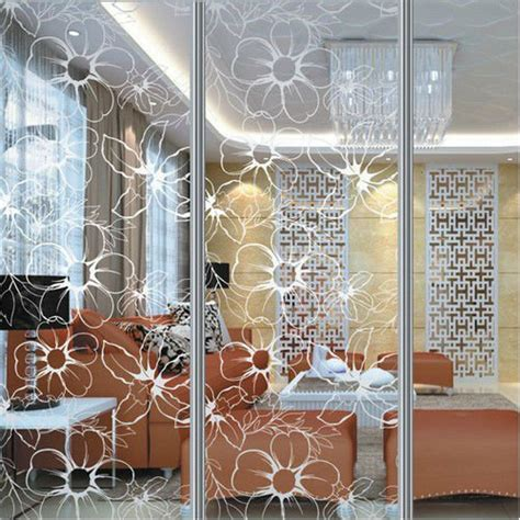 decorative glass partitions home pattern glass hall partition buy hall partition