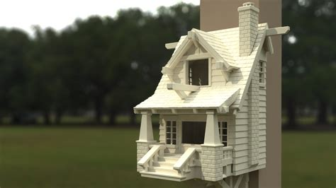 Cool Bird House Plans This 3d Printed Bungalow Is The Ultimate Birdhouse