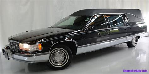 funeral coach for sale 1996 cadillac fleetwood federal coach hearse hearse for sale