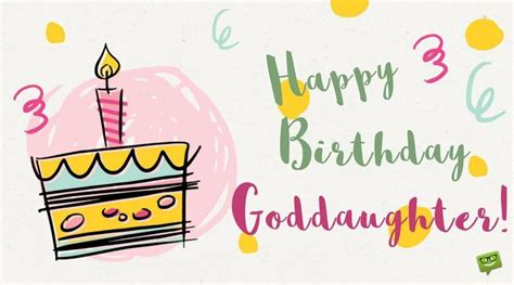 Happy Birthday Wishes For My Goddaughter A Proud Godparent Birthday Wishes For Your Godchildren