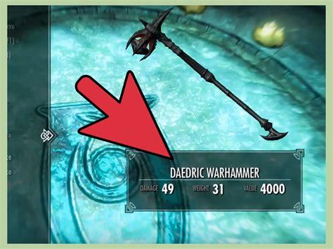 daedric armor  weapons  smithing