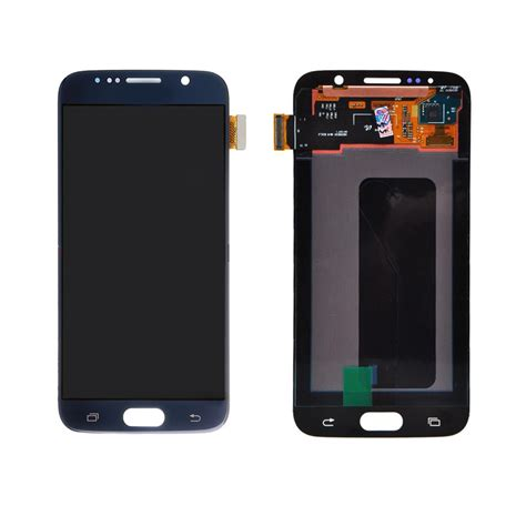Lcd Touchscreen Ts Samsung Galaxy S6 samsung galaxy s6 blue lcd touch screen